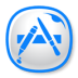 72x72px size png icon of Appstore