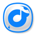 72x72px size png icon of Rdio