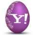 72x72px size png icon of yahoo white