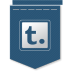 72x72px size png icon of Tumblr