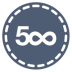 72x72px size png icon of 500px