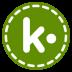72x72px size png icon of Kik