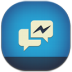 72x72px size png icon of facebook messenger