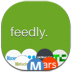 72x72px size png icon of feedly