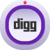 72x72px size png icon of digg