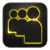 72x72px size png icon of myspace