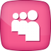 72x72px size png icon of Active MySpace