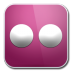72x72px size png icon of flickr