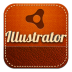 72x72px size png icon of illustrator