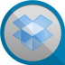 72x72px size png icon of dropbox