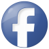 72x72px size png icon of social facebook button blue