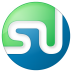 72x72px size png icon of social stumbleupon button color