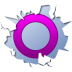 72x72px size png icon of social inside orkut