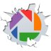 72x72px size png icon of social inside picasa