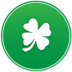 72x72px size png icon of st patricks day clover