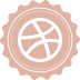 72x72px size png icon of dribbble
