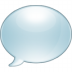 72x72px size png icon of chat bubble