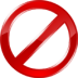 72x72px size png icon of forbidden