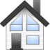 72x72px size png icon of house