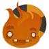 72x72px size png icon of Burn