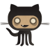 72x72px size png icon of github