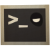 72x72px size png icon of terminal