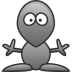 72x72px size png icon of Alien
