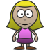 72x72px size png icon of Girl