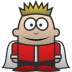72x72px size png icon of King