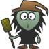 72x72px size png icon of Witch