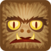 72x72px size png icon of wolfman