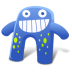 72x72px size png icon of Creature Blue