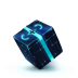 72x72px size png icon of Box 13 Blue