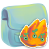 72x72px size png icon of Folder Burn