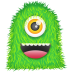 72x72px size png icon of Green Monster