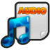 72x72px size png icon of File Audio