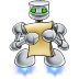 72x72px size png icon of robot documents