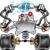 72x72px size png icon of robot network