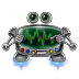 72x72px size png icon of robot screen settings