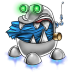 72x72px size png icon of robot trash full