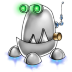 72x72px size png icon of robot trash