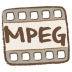 72x72px size png icon of mpeg