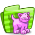 72x72px size png icon of folder cat
