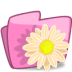 72x72px size png icon of folder flower beige