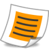 72x72px size png icon of system text