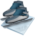 72x72px size png icon of short track speed skating