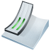 72x72px size png icon of ski jumping