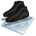 72x72px size png icon of speed skating