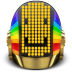 72x72px size png icon of Daft Punk Guyman Smile