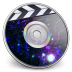 72x72px size png icon of iDVD Plasma